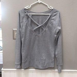 Z by Zella open back sweatshirt